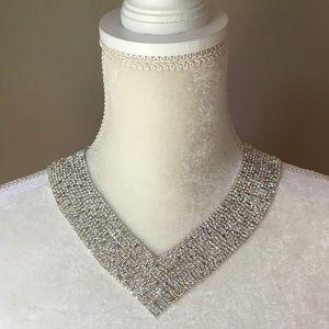 Natasha Rhinestone Necklace NWT Bridal